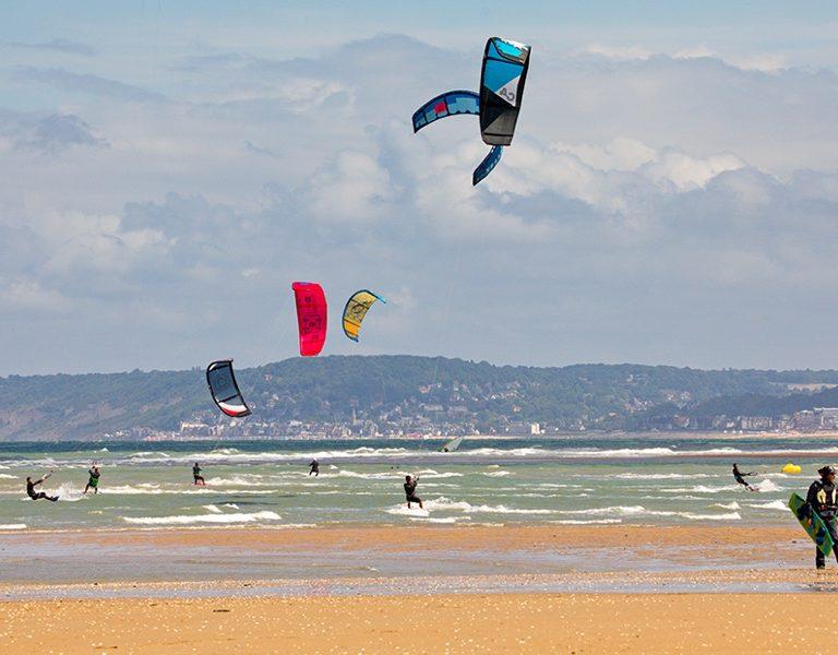 Le spot de kitesurf