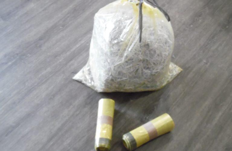 Ordures ménagères et sacs jaunes