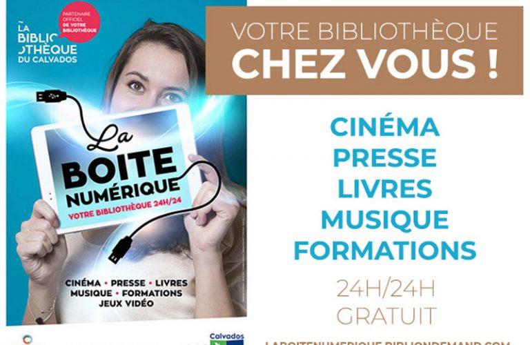 Bibliothèque : nouveau service La boîte Numérique