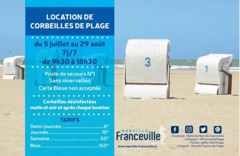Location des corbeilles de plage