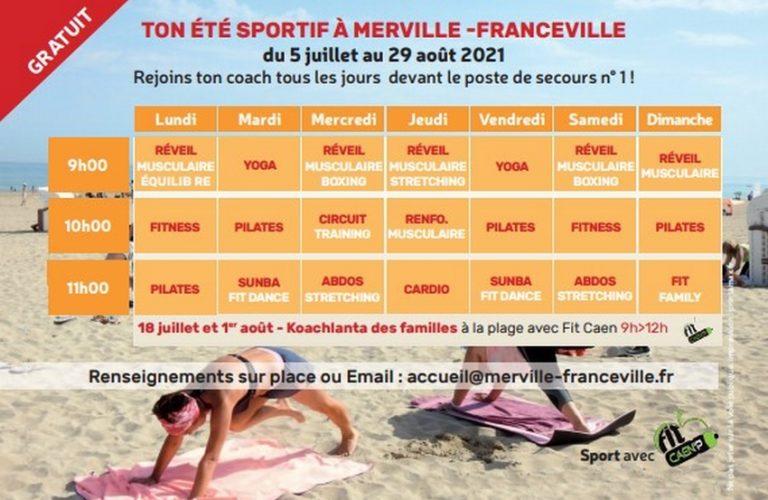 Vos matinées Sportives à la plage
